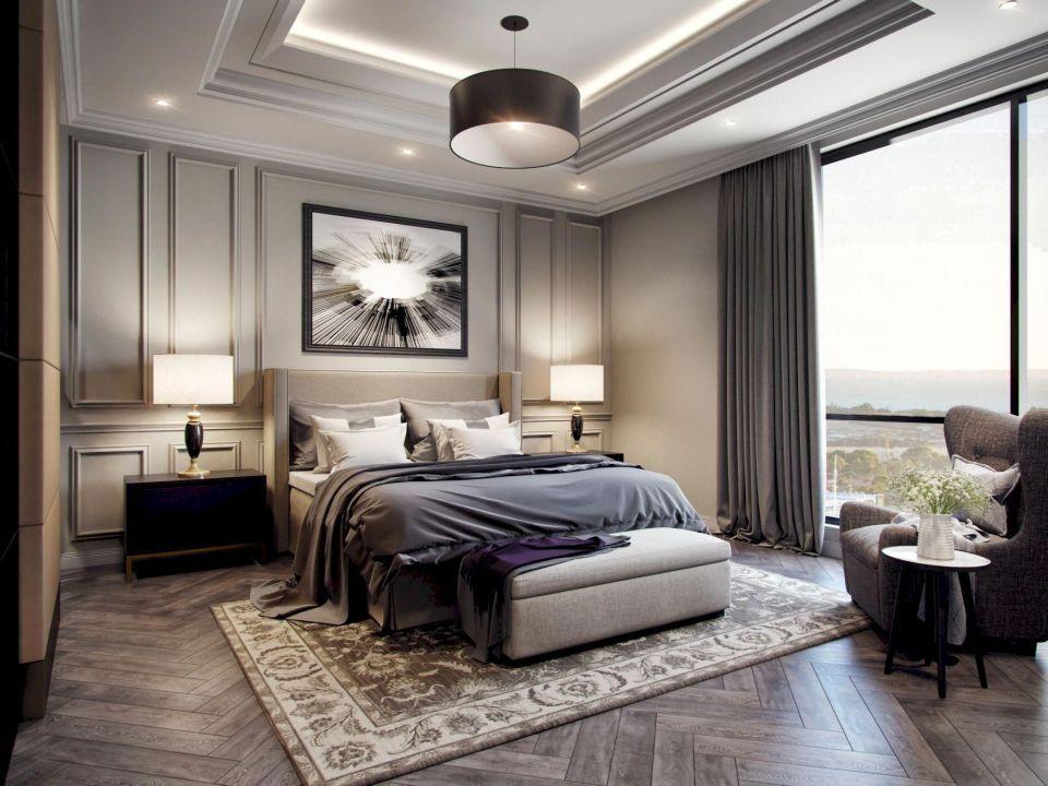 48 Impressive Classic Modern Bedroom Design Ideas (With ...