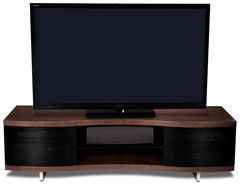 Ola TV Cabinet Theater Seats Glass Doors And Shelves - Abt tv stands