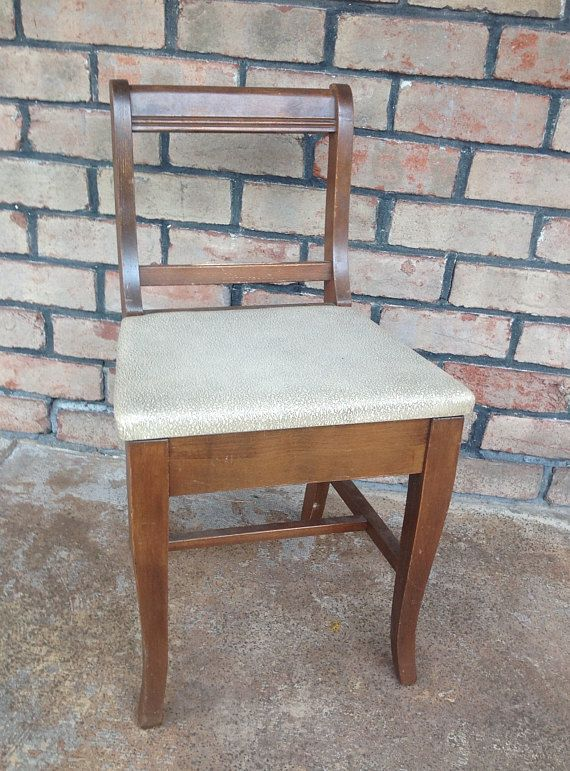 vanity chair with storage. Vintage Vanity Chair with Storage Seat Children s  Chairs