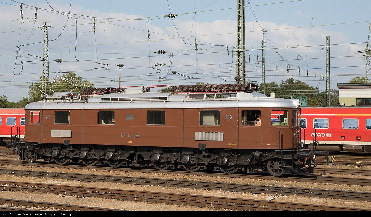 RailPictures.Net Photo: 208 Untitled Ae 6/8 at Basel, Switzerland by Georg Trüb