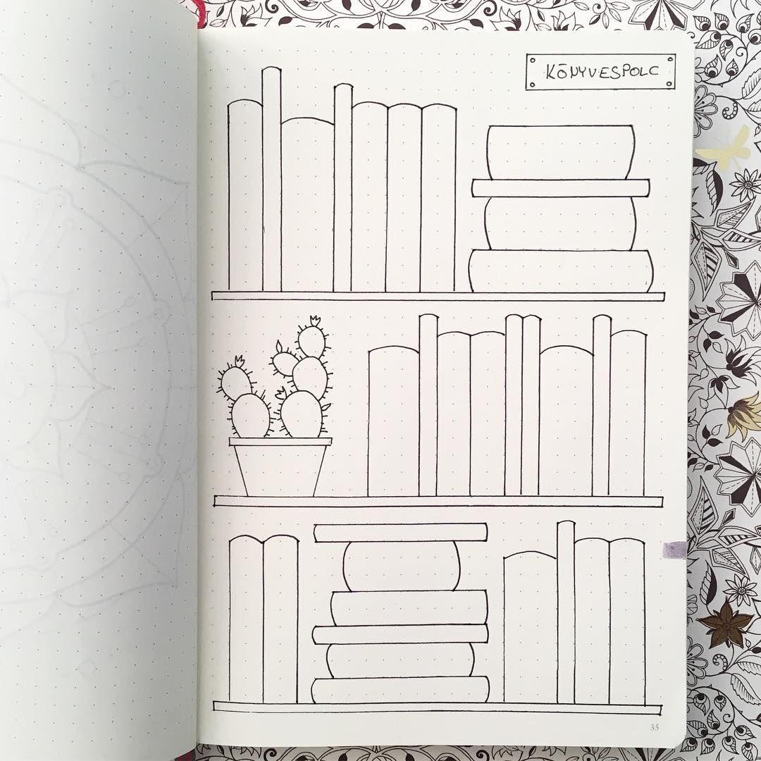 My New Bookshelf Is Ready For 2017 Bullet Journal Books Bullet Journal Themes Bullet Journal Ideas Pages