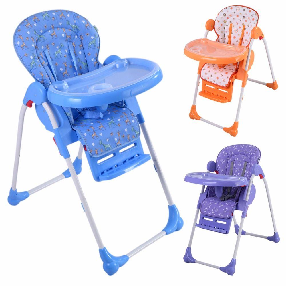 Trona de bebe silla comedor para ninos con bandeja ajustable ...