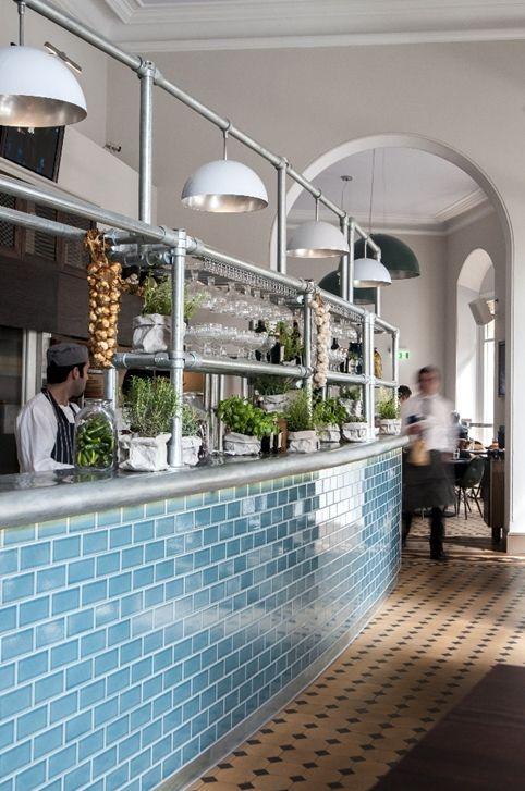 Keane Brands Designs Interiors For Royal Albert Halls Verdi - Fliesen für restaurant küche