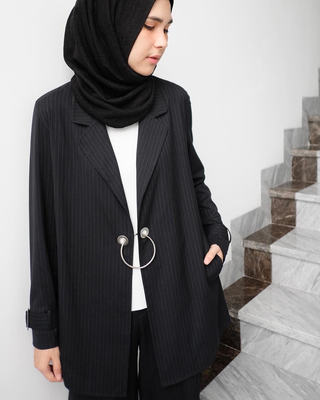 new arrivals 7f6df 6195e Pin by Terosha Reynanda on HIJABI//CASUAL in 2019   Hijab ...
