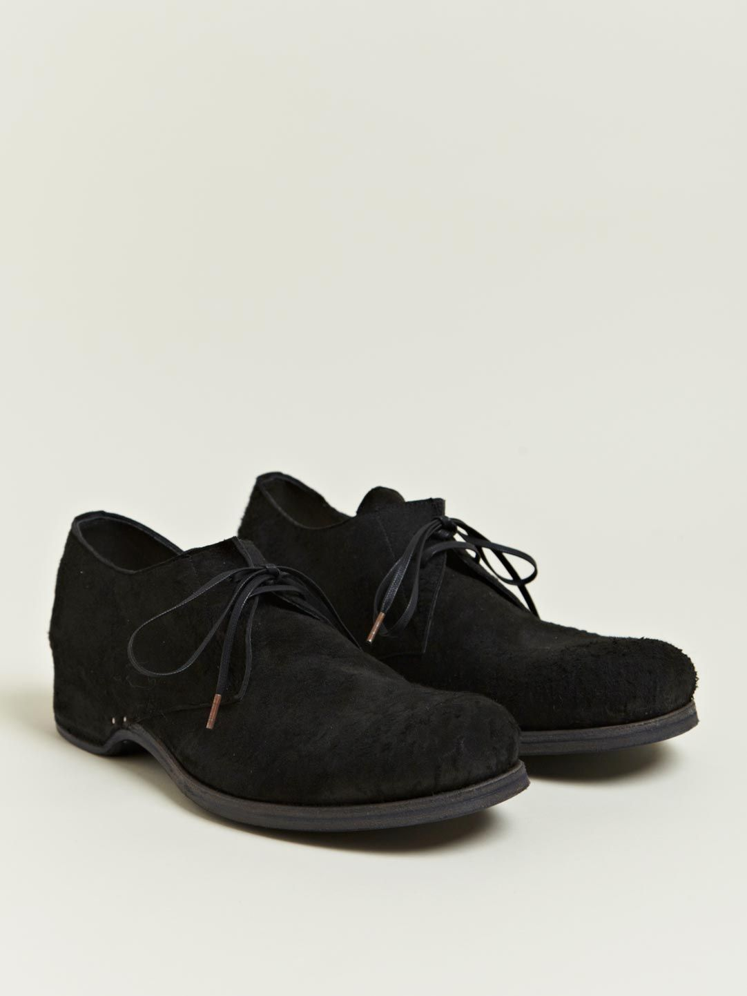 INDIVIDUAL SENTIMENTS Textured derby shoes d25EtQ