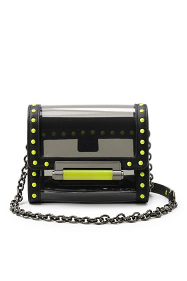 440 Micro Mini PVC Crossbody Bag