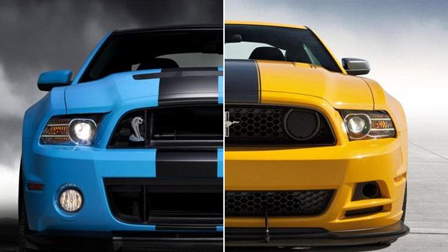 Ford Shelby Gt500 Vs Boss 302 Mustang One To Rule Them All Motoramic Drives Ford Shelby Shelby Gt500 Mustang
