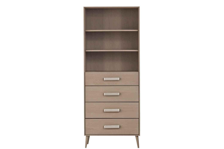 Midcentury modern storage bookcase bedroom by urbangreen furniture new york