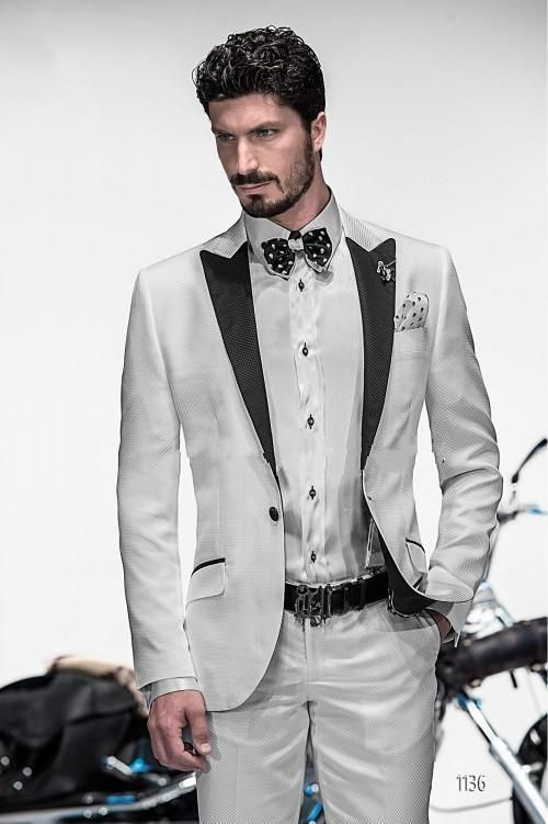 Latest Design Mens Suits Groom Tuxedos Groomsmen Wedding Party ...