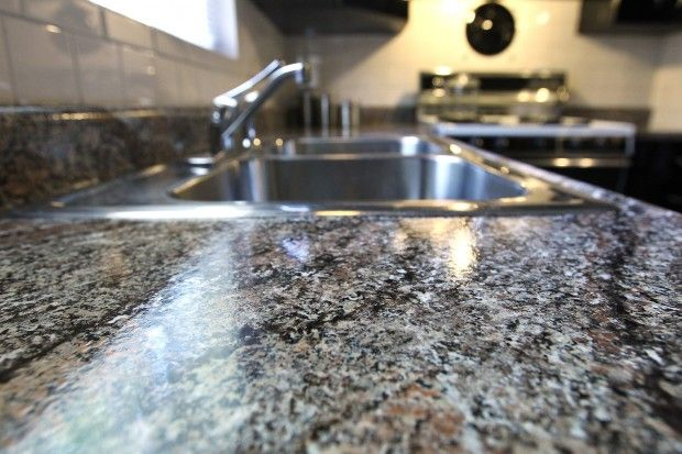 Granite Paint Seals The Deal Replacing Kitchen Countertops Granite Paint Kitchen Countertops