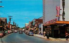 Colonial Theatre, Auto's & Stores on Wanaque Ave ~POMPTON LAKES NJ~ ...