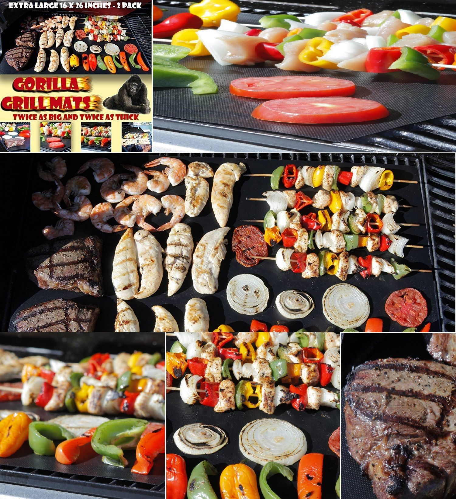 double sized bbq grill mat bbq grill grilling and food