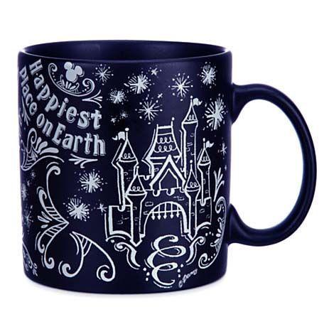 Disney Coffee Cup - Chalkboard - Be Our Guest #disneycoffeemugs