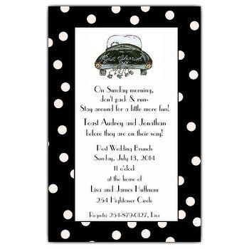 gift opening brunch invitation weddings pinterest invitations