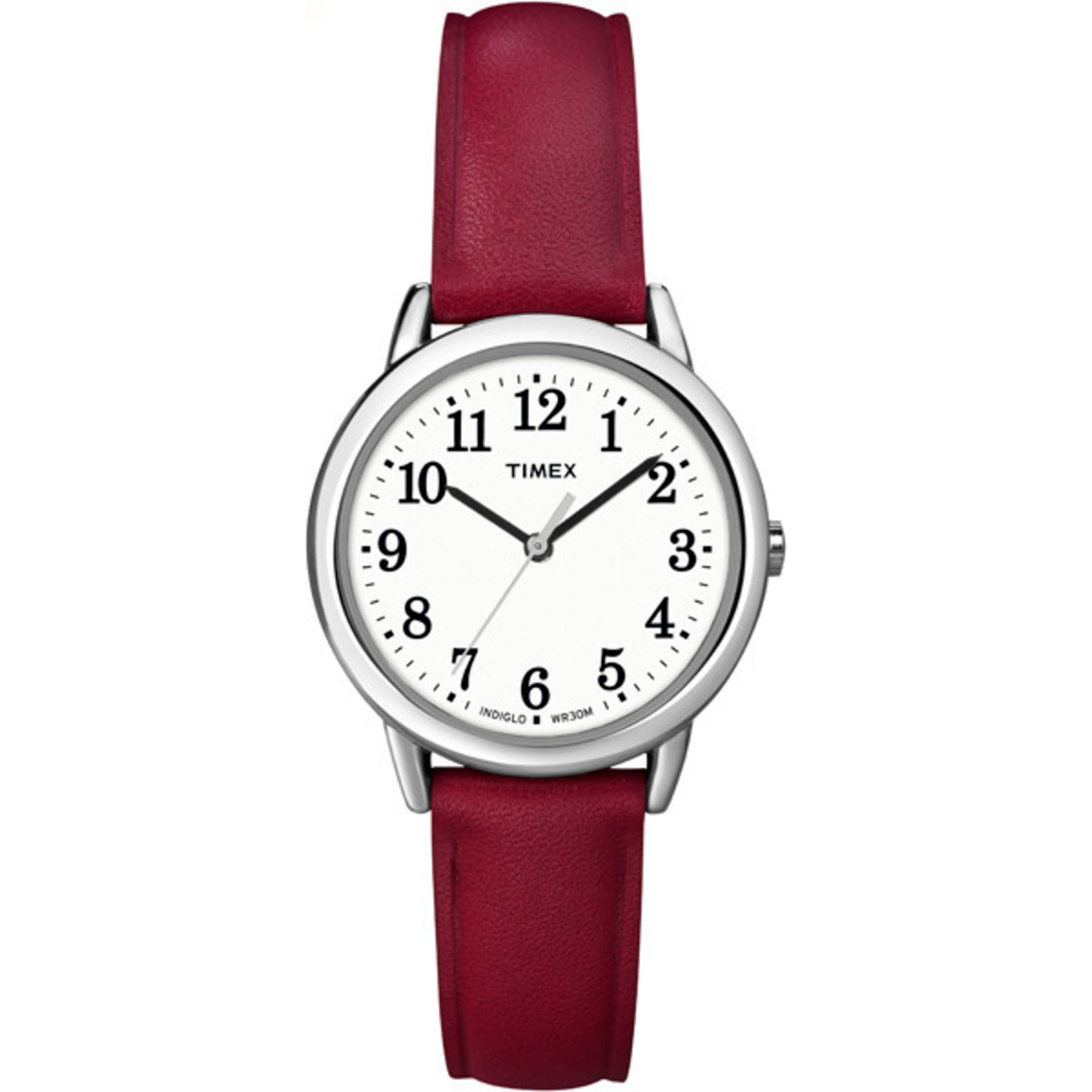 set nautica porthole leather watches a red watch