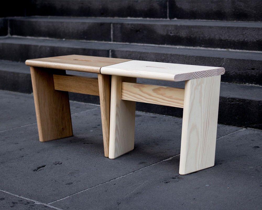 Mobilier Durable Collection De Meubles En Bois Par Le Studio Foret Journal Du Design Collection De Meubles Mobilier De Salon Projets De Mobilier