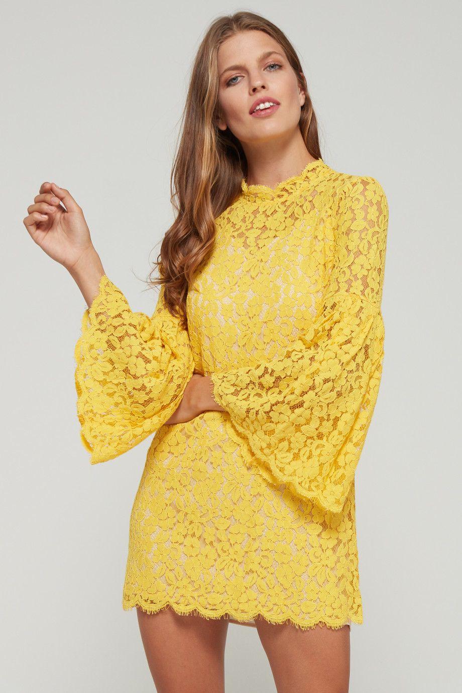 فستان دانتيل طويل بفتحة أمامية مميزة وكشكش Teenage Girls Dresses Maxi Dress Clothes For Women