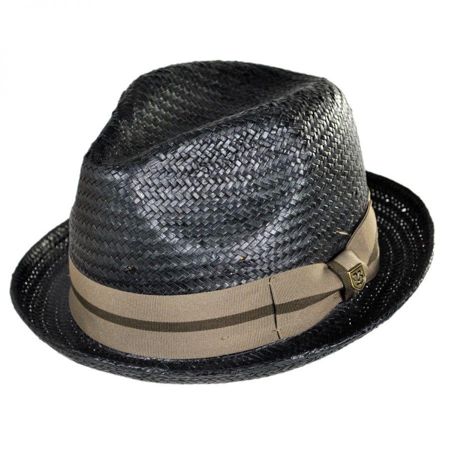 8e75fbb9 Castor Toyo Straw Fedora Hat | Fashion | Straw fedora, Fedora hat, Hats