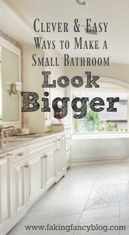 Clever & easy small bathroom organizing ideas | Small bathroom ...