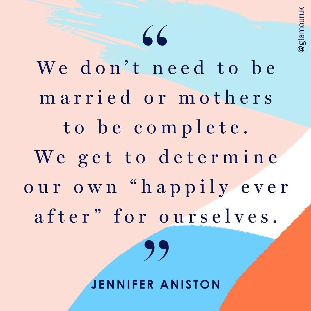 """Jennifer Aniston has written an incredibly powerful essay on pregnancy, modern celebrity, and the expectations put on women. """"For the record, I'm not pregnant. What I am is fed up."""" Hell yes! Read more about it on Glamour.com right now."""