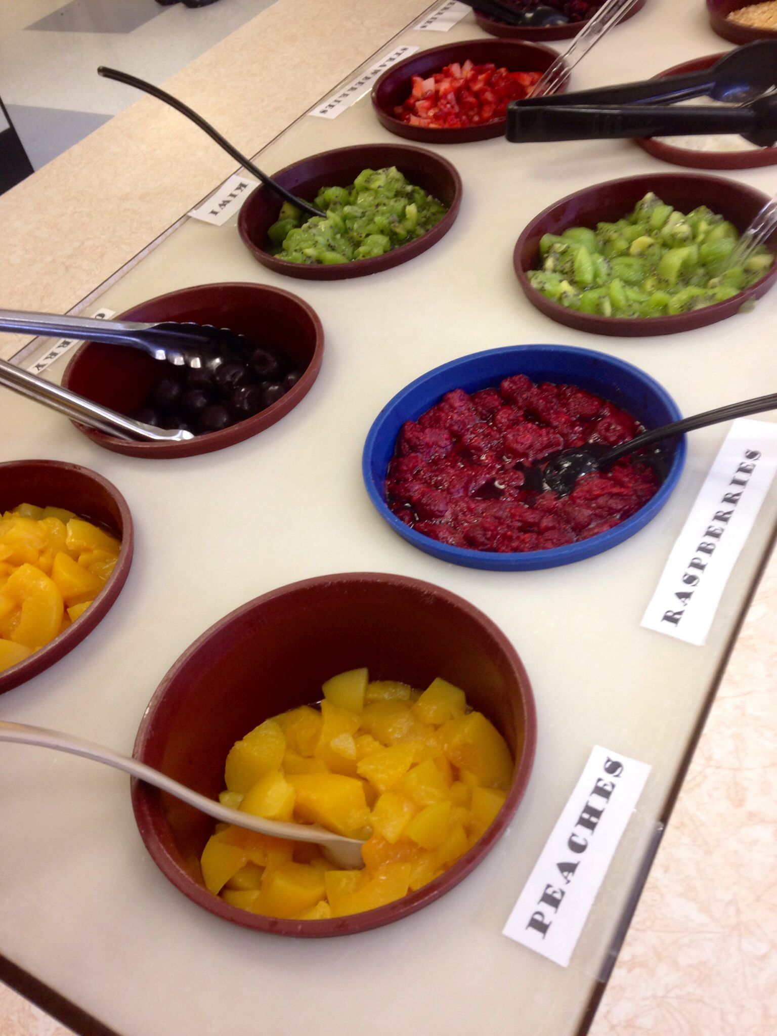Toppings For Yogurt Bar Student Recipes Food Healthy Meals For Kids
