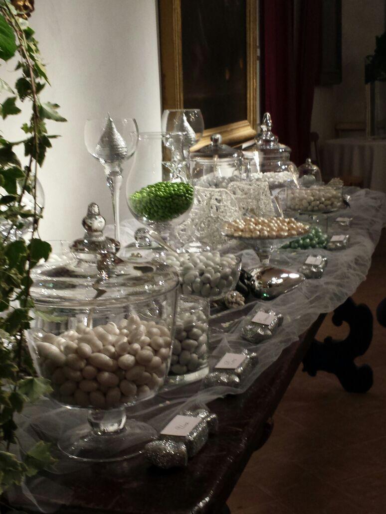 Confettata Matrimonio Natalizio : Confettata matrimonio con cristalli decorazioni in