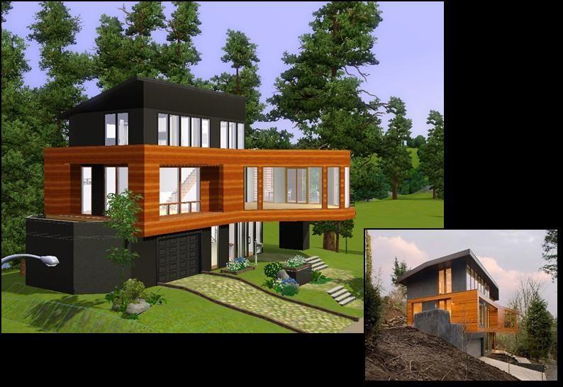 Cullens House From Twilight Sketch Dizajn Doma Dom Dizajn