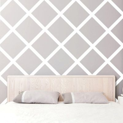 Just Careful Laying The Painters Tape And Then Just Paint Simple And Pretty 25 Stunning Wall Decal Decoracao De Parede Decoracao Pra Quarto Decoracao De Casa