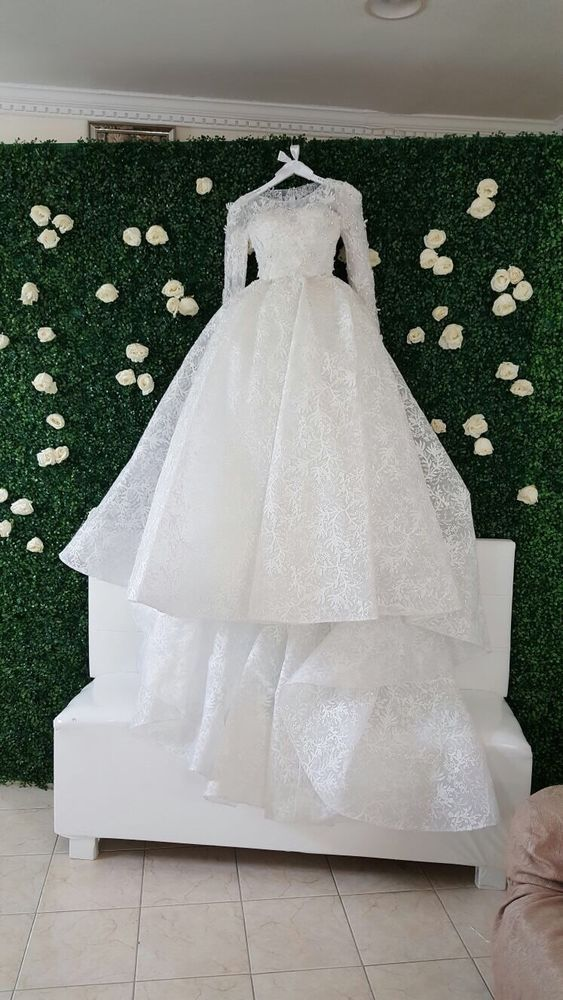 d29a390a007b66 Tony Ward Wedding Dress size 2 color white worn only once  fashion  clothing   shoes  accessories  weddingformaloccasion  weddingdresses (ebay link)