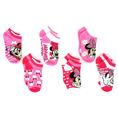 Mickey and Minnie Mouse Multi pack Socks Toddler//Little Kid//Big Kid//Teen//Adult