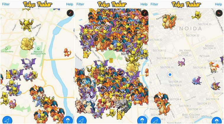 Apps That Can Help You Locate Pokemon Nearby Pokemon Pokemon Go Pikachu