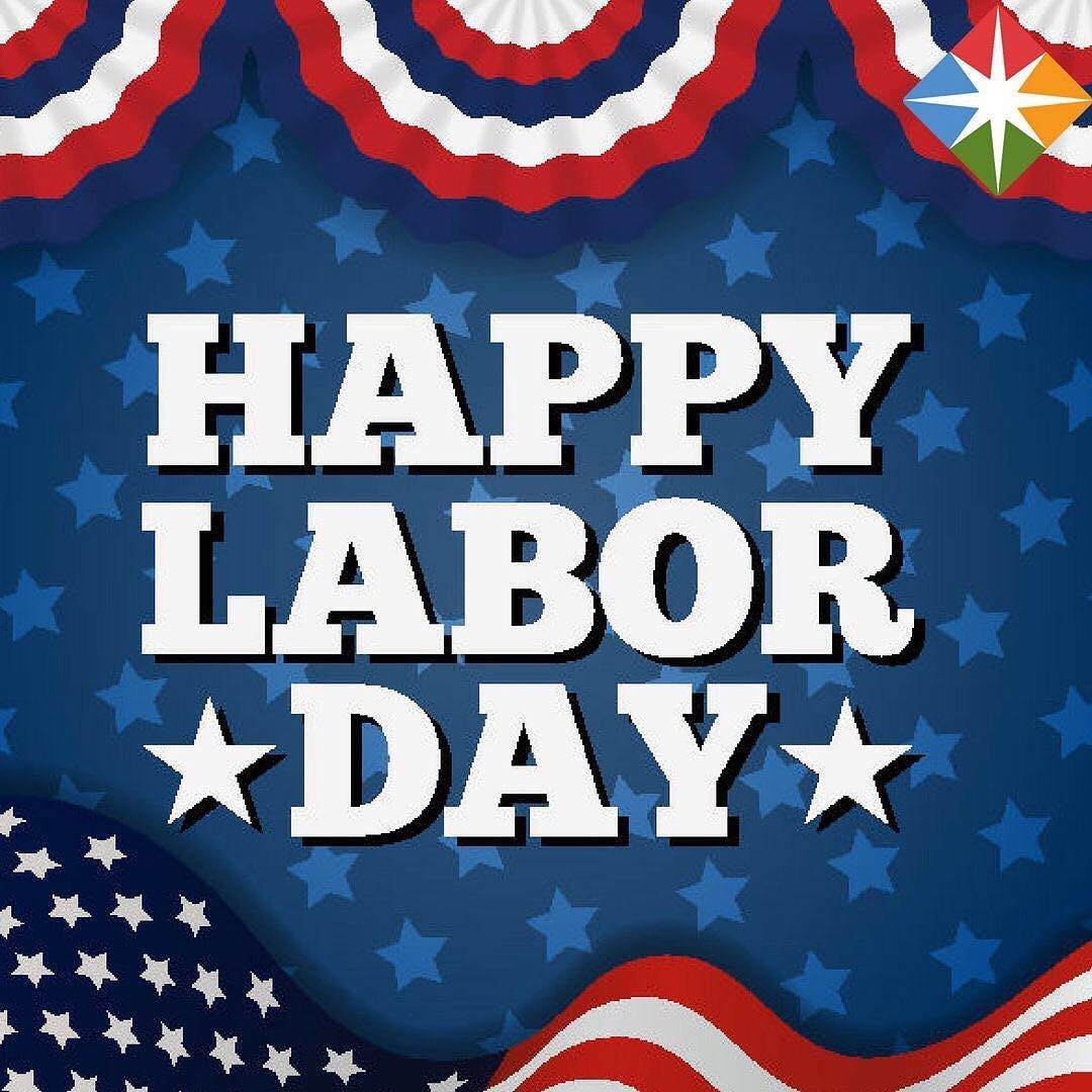 Labor Day is a tribute to all the people who work every day. All work is very important and we wish you all a great day!  #laborday2017 #mondaymotivation