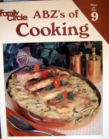 Family Circle ABZ's of Cooking, Vol. 9: Plum To Rye - Lucy Wing in spuddled's Book Collector Connect collection