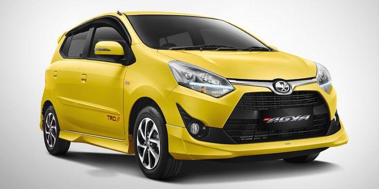 Harga Toyota Agya Bandung Tipe E G Trd Sportivo Transmisi At