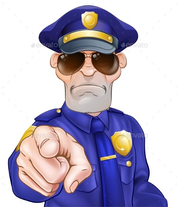 Cartoon Policeman Cartoon Cartoon Character Clipart Police