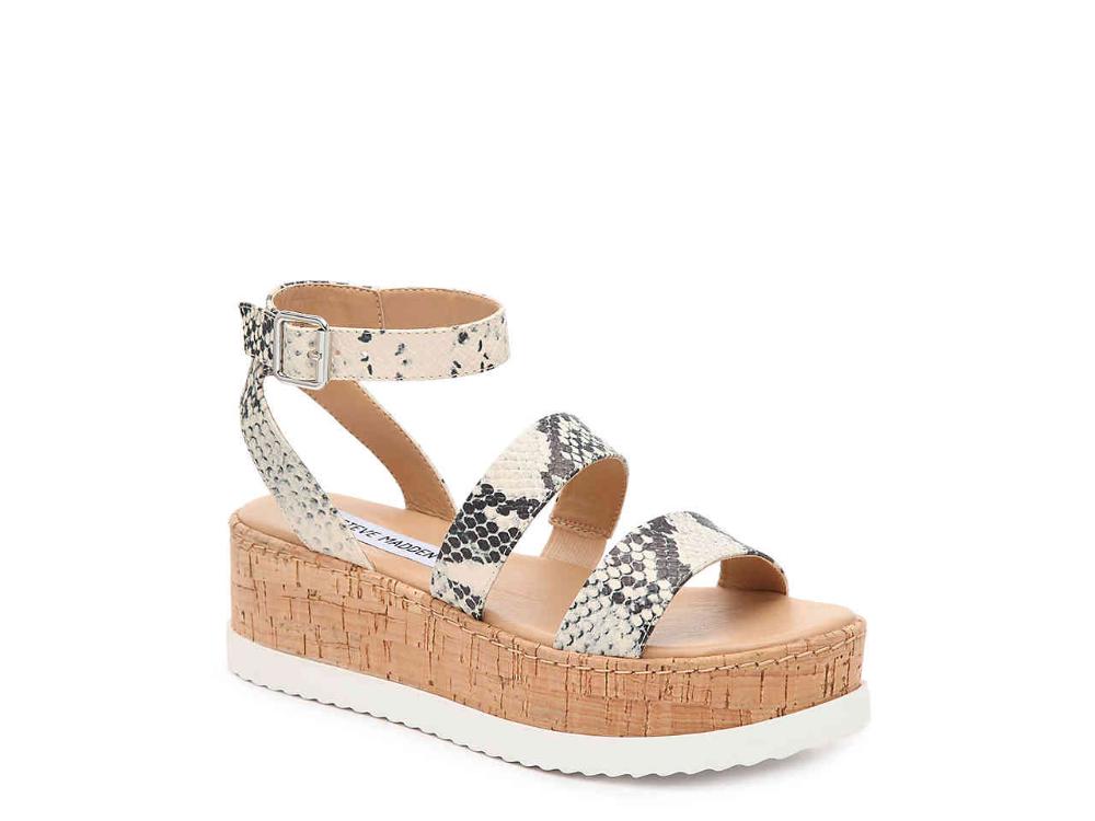 Steve Madden Faithi Wedge Sandal Women's Shoes | DSW | Wedge