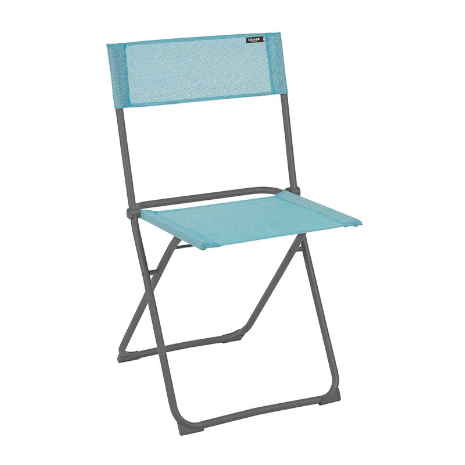 Lafuma De Wit.Lafuma Balcony Outdoor Folding Beach Chair Set Of 2