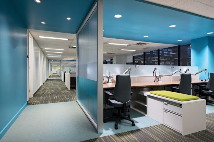 Morneau Shepell Office by Metaphore Design, Montreal \u2013 Canada