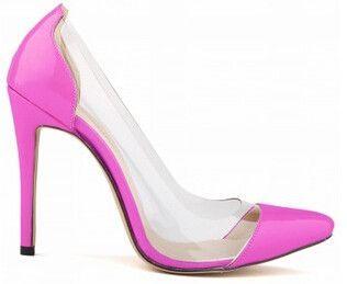 {D&H}Brand Shoes Woman Fashion Women Pumps Sexy Transparent High Heels Women Dresses Shoes Gift socks sapatos femininos de salto