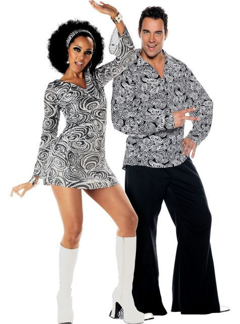 Disco Diva And Funky 70 Disco Costume 70s Party Outfit Party City Costumes