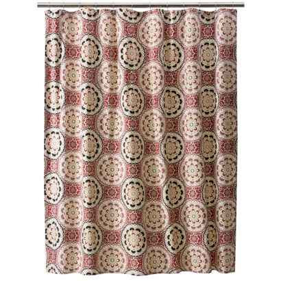 Target Home Medallion Shower Curtain