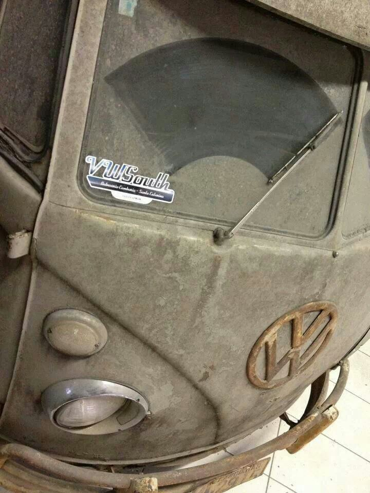 Vintage #VW Bus