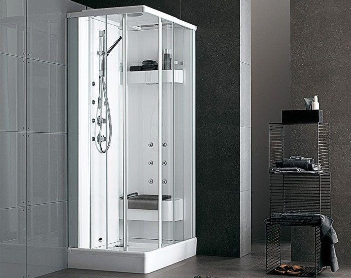 Box doccia multifunzione con idromassaggio flexa thema