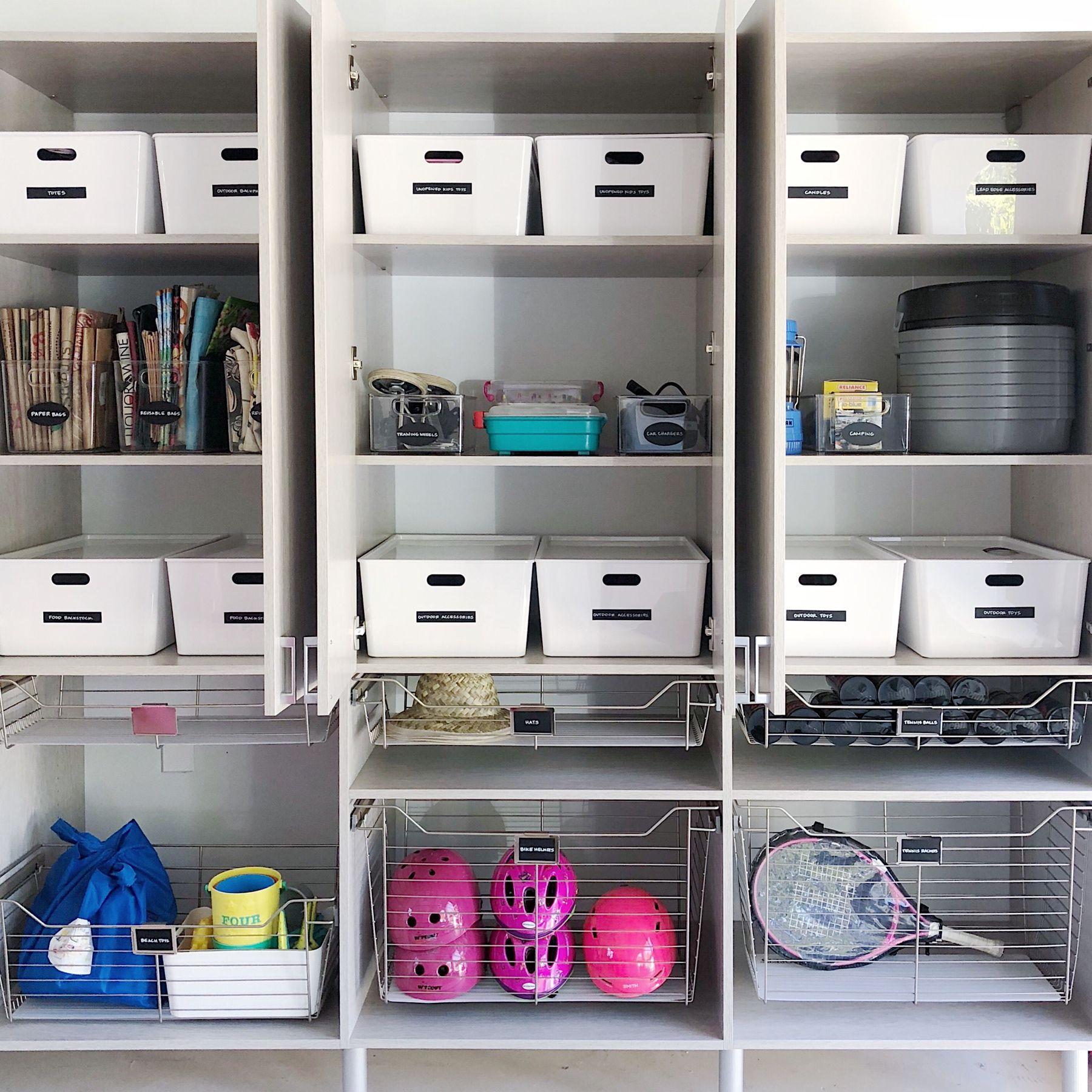Neat Method Garage Design Garage Inspiration Garage Organization Garage Shelving Home Organization Sports Equi Ikea Toy Storage Storage Home Organization
