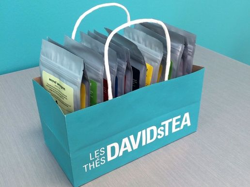 Now fill the holder with your tea collection and enjoy!
