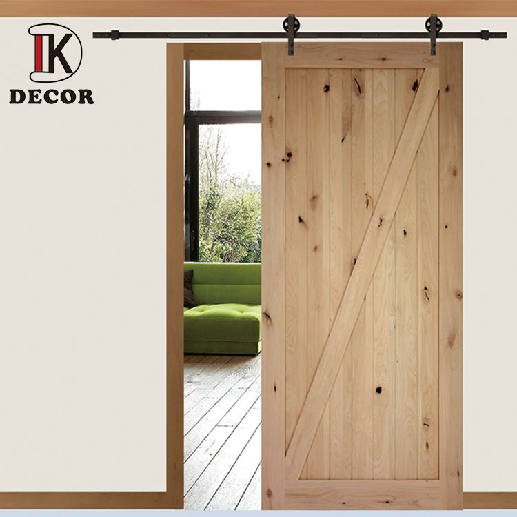 Decor Wooden Barn Door In 2020 Wooden Barn Doors Wood Doors Interior Doors Interior