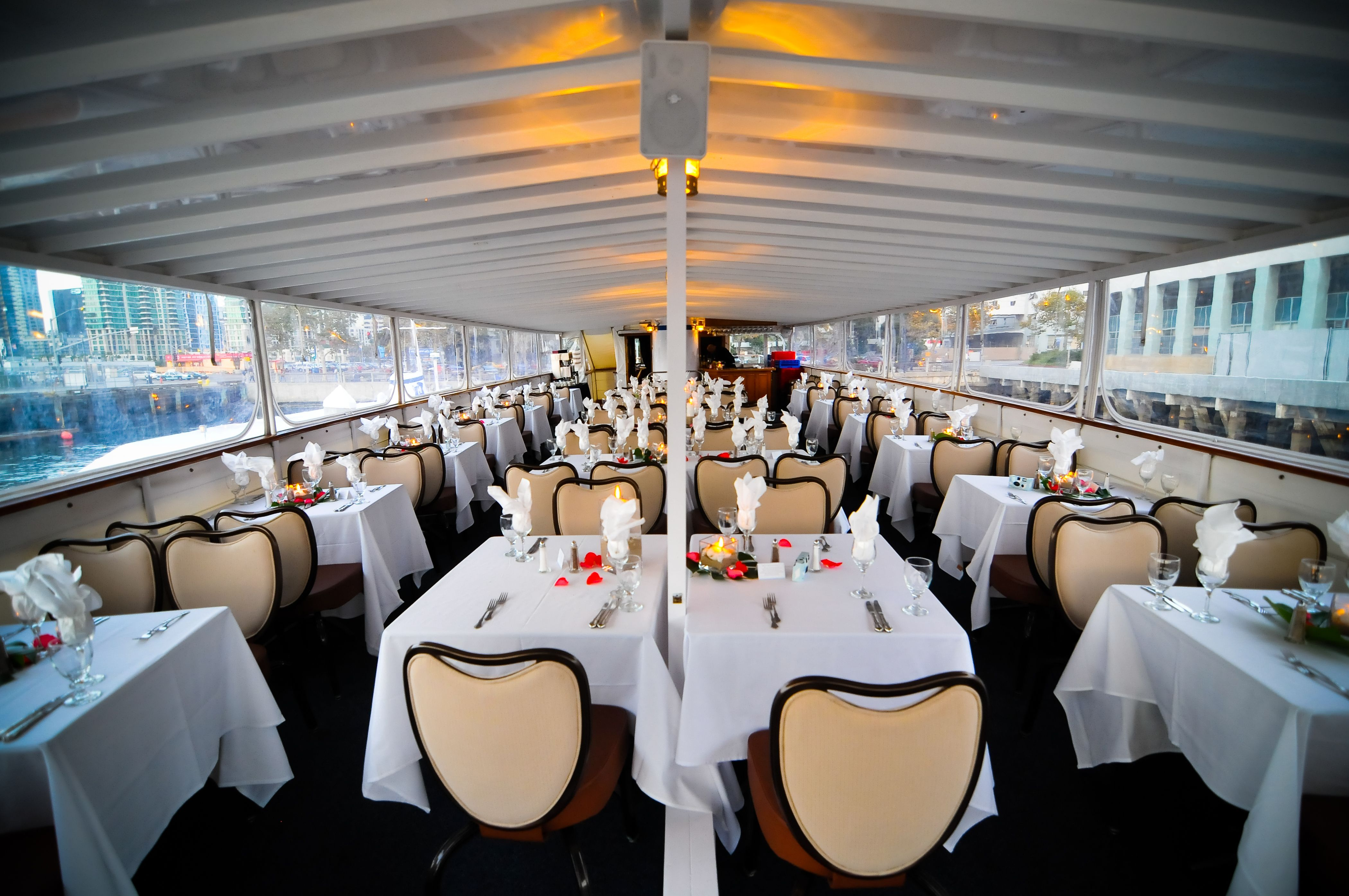 High Spirits Yacht Upper Deck Horner Cruises Events San Go Ca