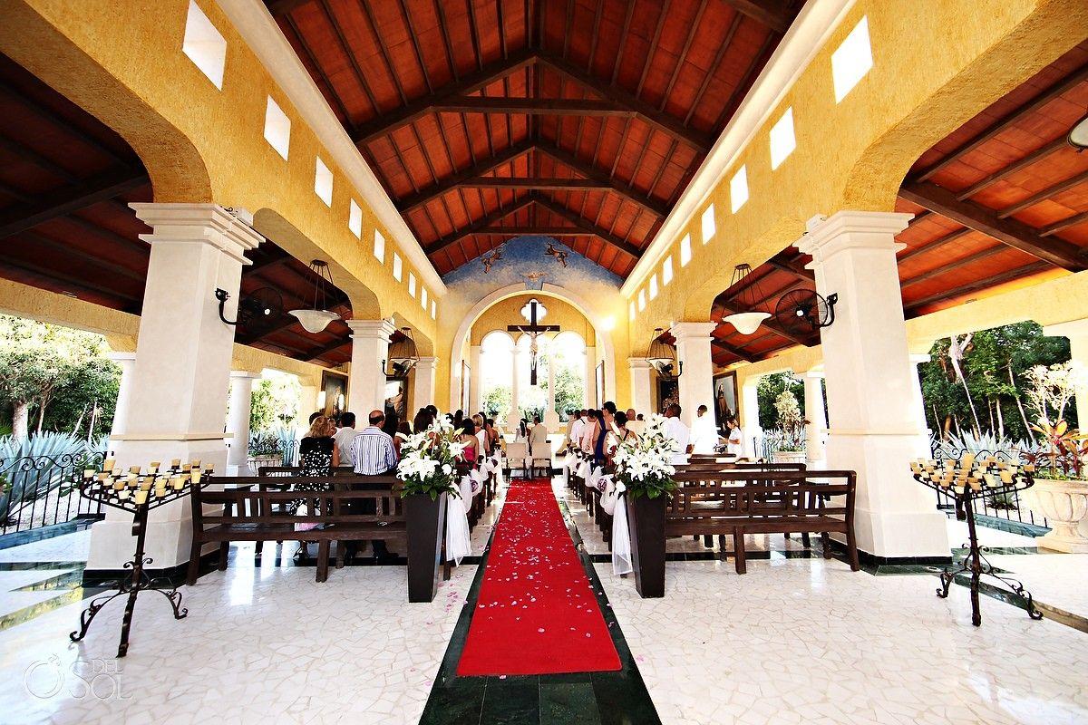 Riviera Maya Wedding Grand Palladium Kantenah Church Nuestra Señora De Las Nieves Ideal Venue