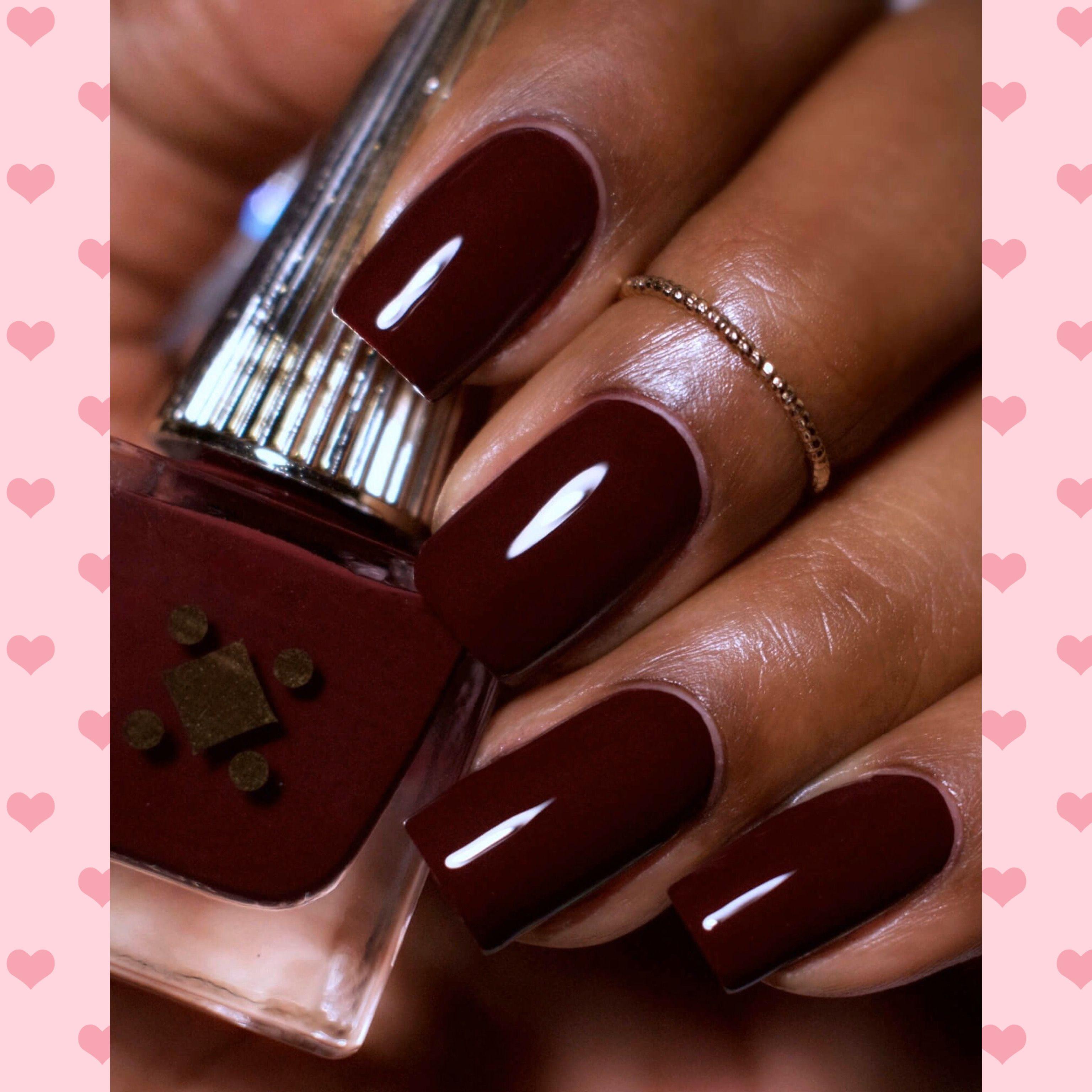 9 Fall Nail Polish Colors That Look Amazing On Black Women Nail Polish Colors Fall Nail Polish Colors Purple Nail Polish