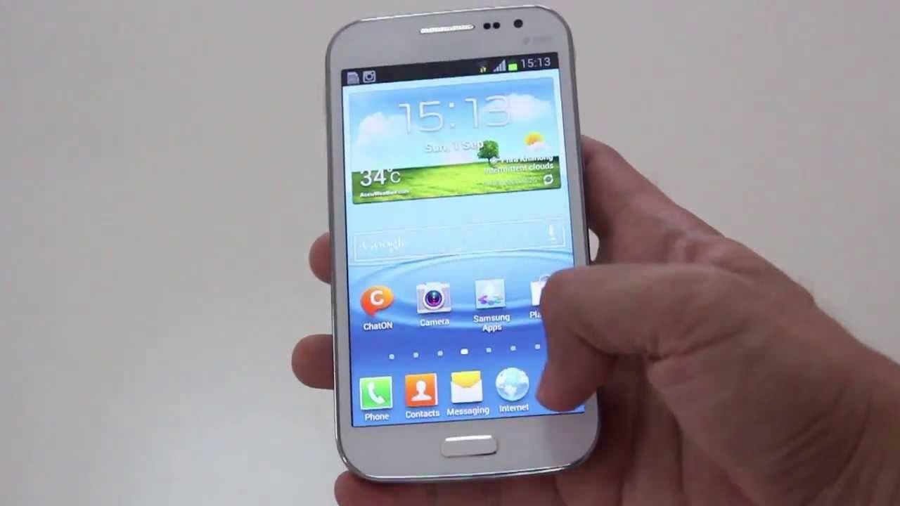 Samsung GT I8552 прошивка
